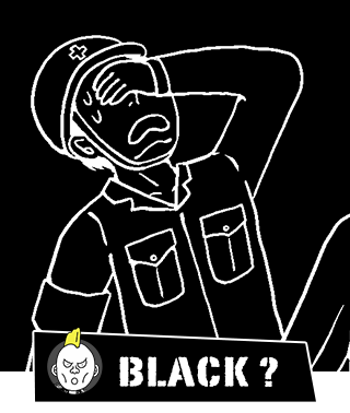 BLACK?(パンクス)